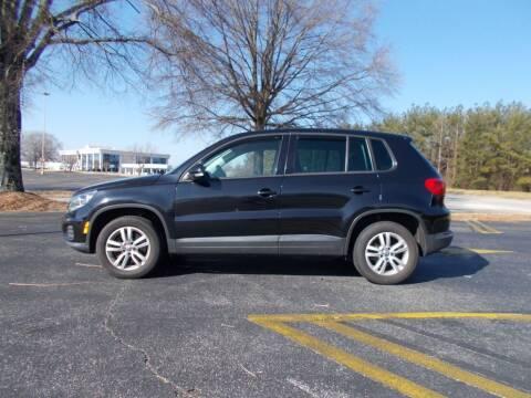 2012 Volkswagen Tiguan for sale at A & P Automotive in Montgomery AL