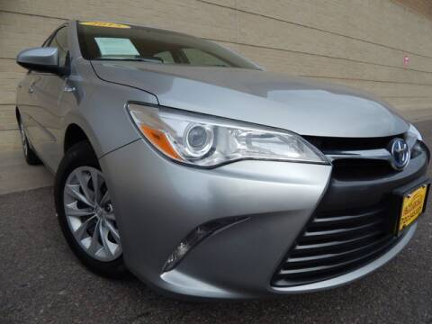 2015 Toyota Camry Hybrid for sale at Altitude Auto Sales in Denver CO