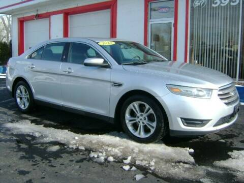 2013 Ford Taurus for sale at Cedar Auto Sales in Lansing MI