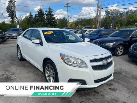 2013 Chevrolet Malibu for sale at I57 Group Auto Sales in Country Club Hills IL