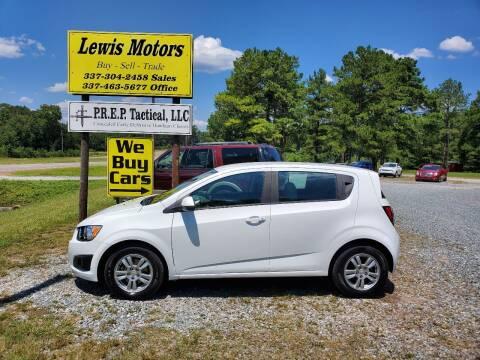 2014 Chevrolet Sonic for sale at Lewis Motors LLC in Deridder LA