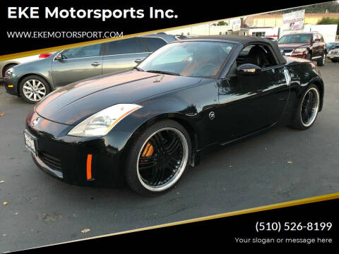 2005 Nissan 350Z for sale at EKE Motorsports Inc. in El Cerrito CA