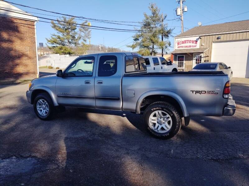 2004 Toyota Tundra for sale at Jim's Hometown Auto Sales LLC in Byesville OH