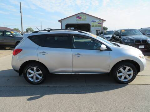2009 Nissan Murano for sale at Jefferson St Motors in Waterloo IA