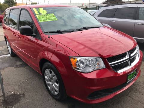 2016 Dodge Grand Caravan for sale at CAR GENERATION CENTER, INC. in Los Angeles CA