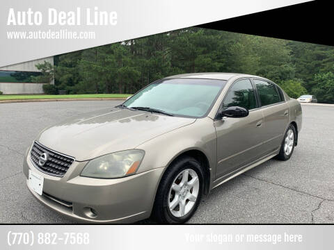 2006 Nissan Altima for sale at Auto Deal Line in Alpharetta GA