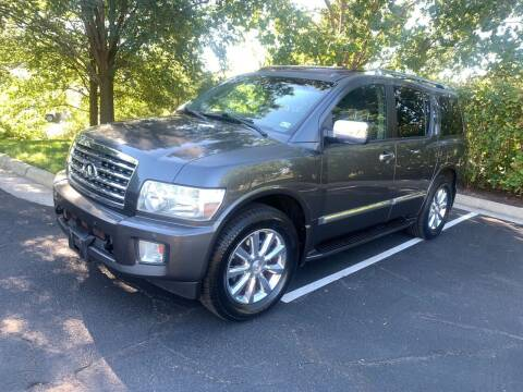 2010 Infiniti QX56 for sale at Dreams Auto Group LLC in Sterling VA