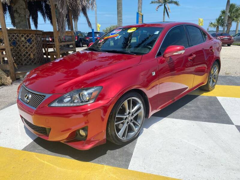 2011 Lexus IS 250 for sale at D&S Auto Sales, Inc in Melbourne FL