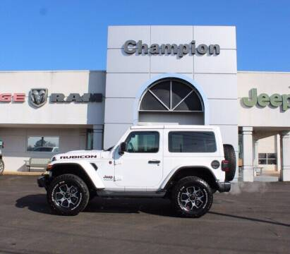 2019 Jeep Wrangler for sale at Champion Chevrolet in Athens AL