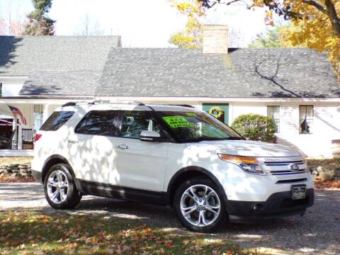 2014 Ford Explorer for sale at The Auto Barn in Berwick ME