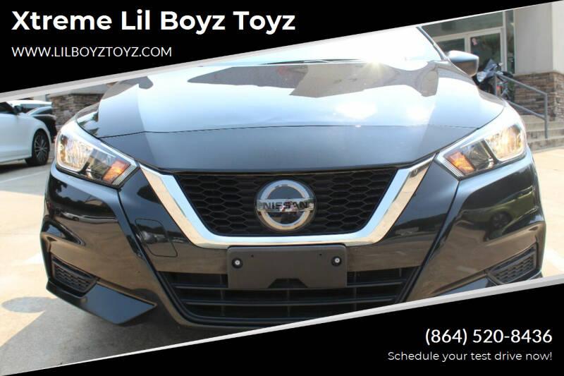 2020 Nissan Versa for sale at Xtreme Lil Boyz Toyz in Greenville SC