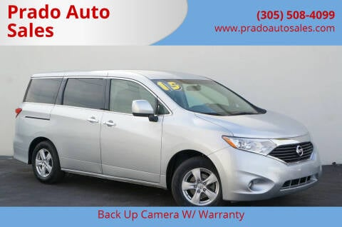2015 Nissan Quest for sale at Prado Auto Sales in Miami FL