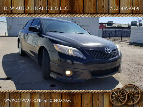 2010 Toyota Camry for sale at Bad Credit Call Fadi in Dallas TX