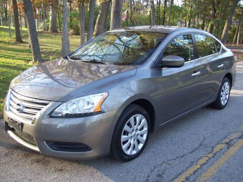 2015 Nissan Sentra for sale at Edgewater of Mundelein Inc in Wauconda IL