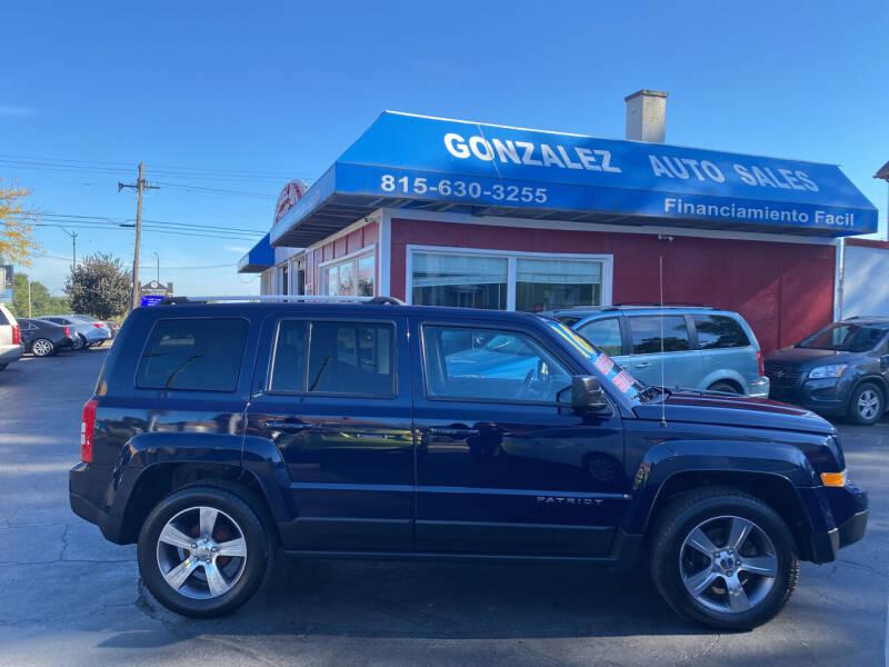 2016 Jeep Patriot for sale at Gonzalez Auto Sales in Joliet IL