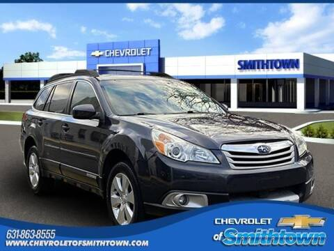 2011 Subaru Outback for sale at CHEVROLET OF SMITHTOWN in Saint James NY