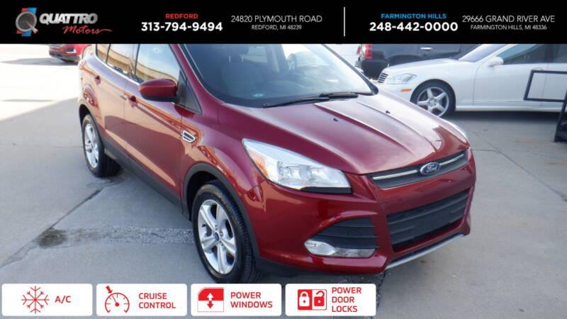 2014 Ford Escape for sale at Quattro Motors 2 - 1 in Redford MI