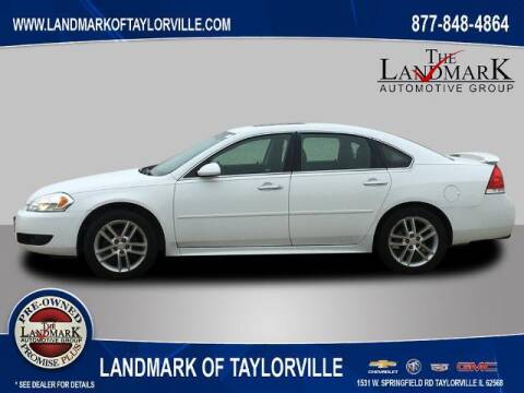 2012 Chevrolet Impala for sale at LANDMARK OF TAYLORVILLE in Taylorville IL