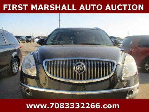 2011 Buick Enclave for sale at First Marshall Auto Auction in Harvey IL