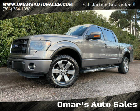 2013 Ford F-150 for sale at Omar's Auto Sales in Martinez GA