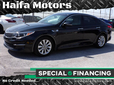 2016 Kia Optima for sale at Haifa Motors in Philadelphia PA
