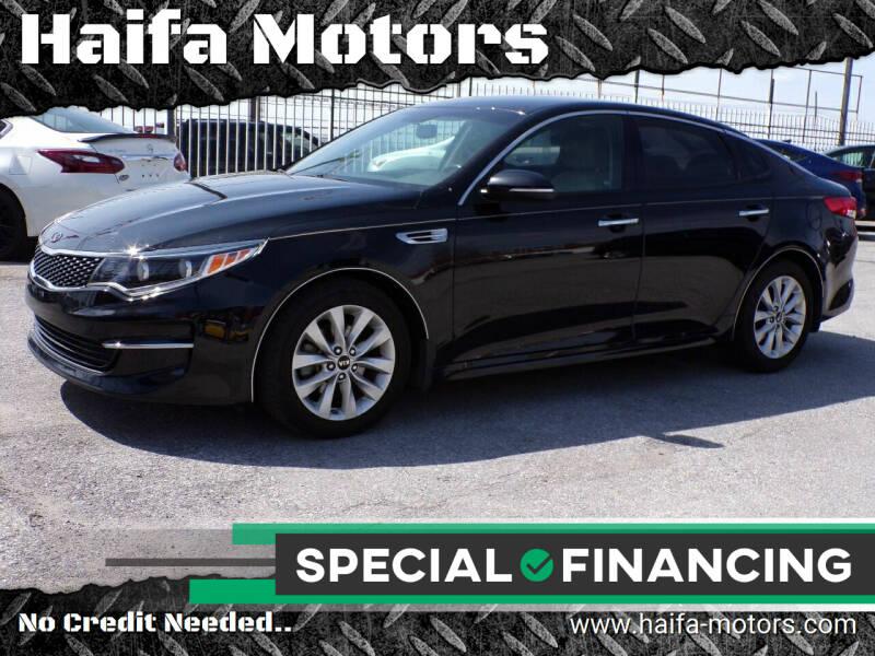 2016 Kia Optima for sale at Haifa Motors in Philadelphia PA