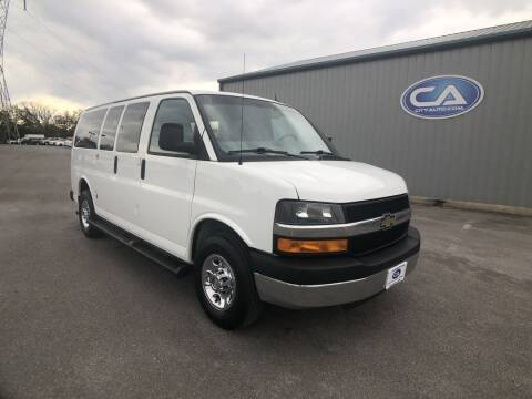 2015 Chevrolet Express Passenger for sale at ADKINS CITY AUTO in Murfreesboro TN