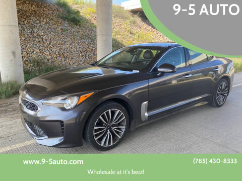 2019 Kia Stinger for sale at 9-5 AUTO in Topeka KS