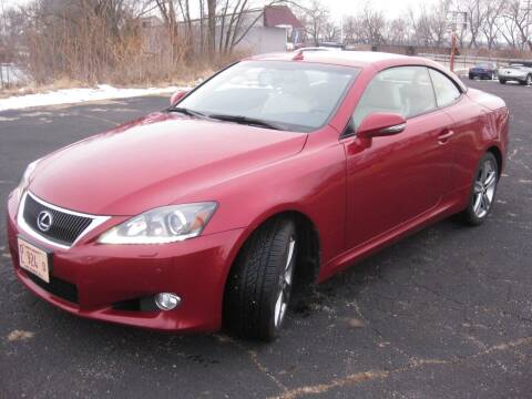 2012 Lexus IS 250C for sale at Pre-Owned Imports in Pekin IL