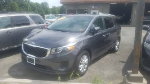 2016 Kia Sedona for sale at JERRY SIMON AUTO SALES in Cambridge NY