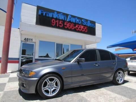 2003 BMW 3 Series for sale at Franklin Auto Sales in El Paso TX