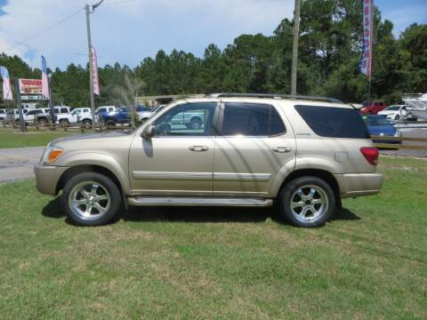 2005 Toyota Sequoia for sale at Ward's Motorsports in Pensacola FL