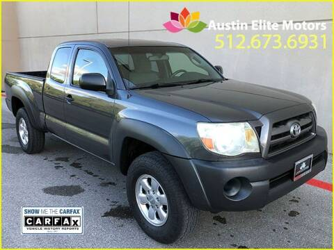 2010 Toyota Tacoma for sale at Austin Elite Motors in Austin TX