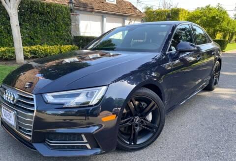 2018 Audi A4 for sale at Car Lanes LA in Glendale CA