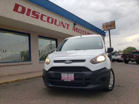 2014 Ford Transit Connect Cargo for sale at Discount Motors in Pueblo CO