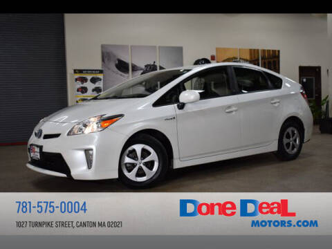 2015 Toyota Prius for sale at DONE DEAL MOTORS in Canton MA