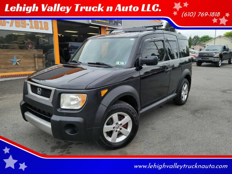 2006 Honda Element for sale at Lehigh Valley Truck n Auto LLC. in Schnecksville PA