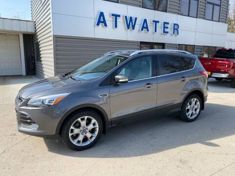 2014 Ford Escape for sale at Atwater Ford Inc in Atwater MN