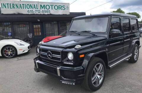 2016 Mercedes-Benz G-Class for sale at International Motors Inc. in Nashville TN