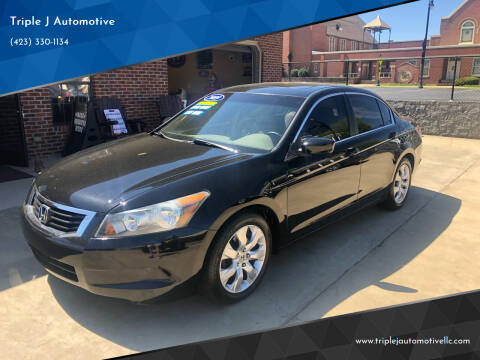 2009 Honda Accord for sale at Triple J Automotive in Erwin TN