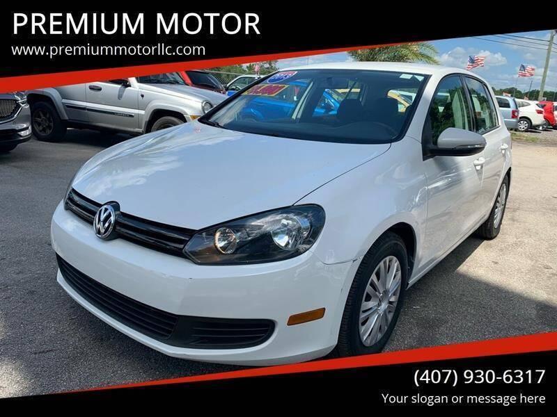 2013 Volkswagen Golf for sale at PREMIUM MOTOR in Orlando FL