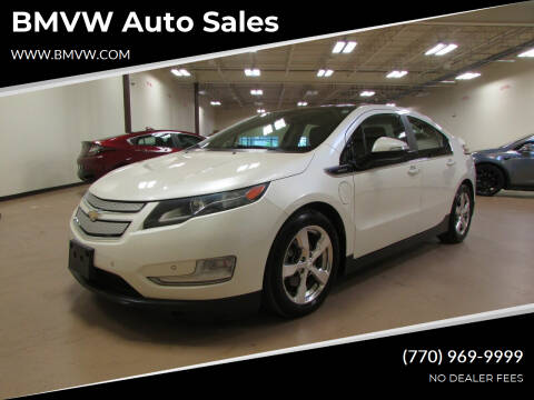 2012 Chevrolet Volt for sale at BMVW Auto Sales - Plug-In Hybrids in Union City GA