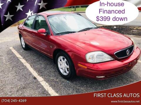2001 Mercury Sable for sale at First Class Autos in Maiden NC