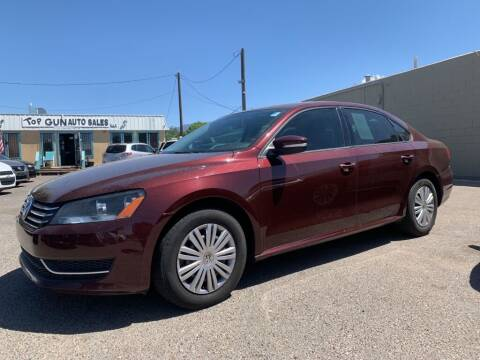 2014 Volkswagen Passat for sale at Top Gun Auto Sales, LLC in Albuquerque NM