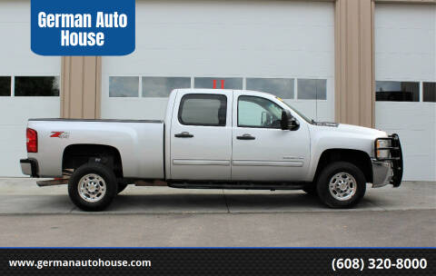 2010 Chevrolet Silverado 2500HD for sale at German Auto House in Fitchburg WI
