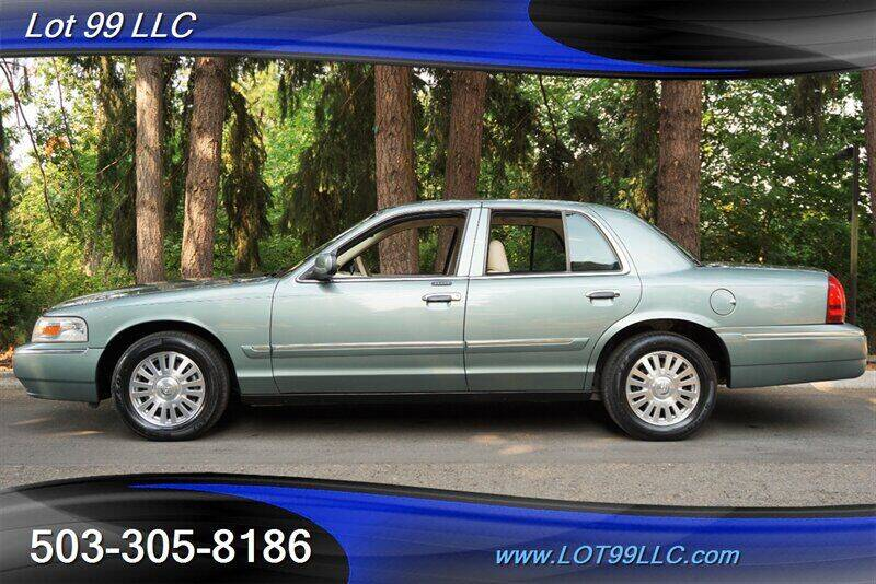 2006 Mercury Grand Marquis for sale at LOT 99 LLC in Milwaukie OR