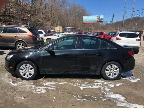 2012 Chevrolet Cruze for sale at Compact Cars of Pittsburgh in Pittsburgh PA