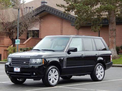 2011 Land Rover Range Rover for sale at SEATTLE FINEST MOTORS in Lynnwood WA
