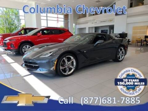 2018 Chevrolet Corvette for sale at COLUMBIA CHEVROLET in Cincinnati OH