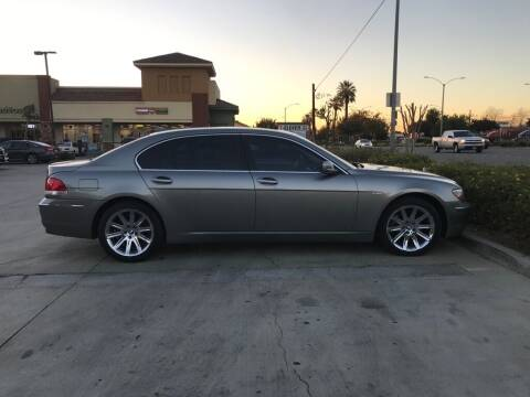 2006 BMW 7 Series for sale at RN AUTO GROUP in San Bernardino CA